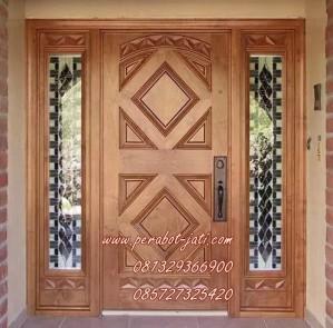 Daun Pintu Dan Kusen Rumah Utama Ukiran Minimalis 2015