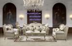 Desain Set Kursi Sofa Ruang Tamu Luxury Model Terbaru 2015
