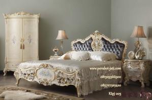 Set Tempat Tidur Mahogany Mewah Duco