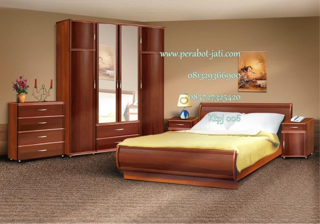 set kamar tidur jati mewah terbaru dan termurah