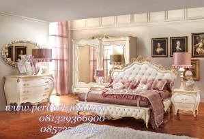 Set Isi Kamar Tidur Mewah Ukiran Klasik Monalisa Jepara