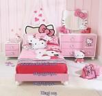 Set Kamar Tidur Anak Perempuan Hello Kitty