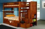Set Tempat Tidur Anak Laki Laki Tingkat Minimalis