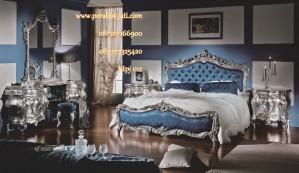 Set Kamar Tidur Ukir Mewah Klasik Rosalina Franch Style