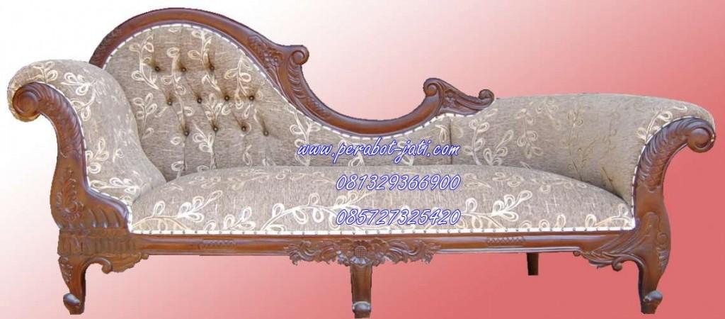 Desain Sofa Santai Ukir  Jati Model Terbaru Perabot Jati