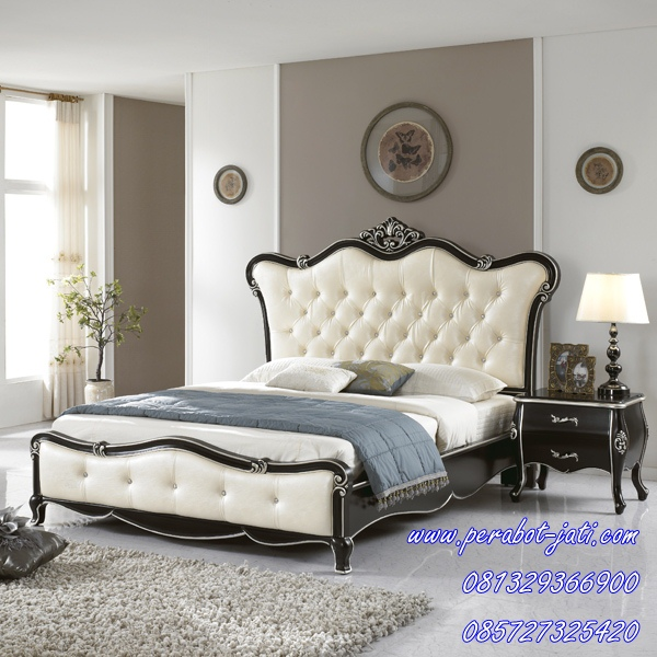 furniture tempat tidur remaja ukiran perabot jati model