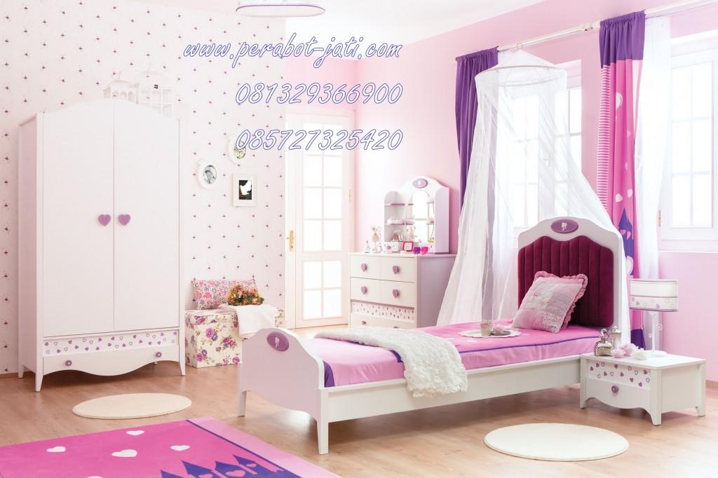 Kamar Tidur Anak Princess Cat Duco Pink