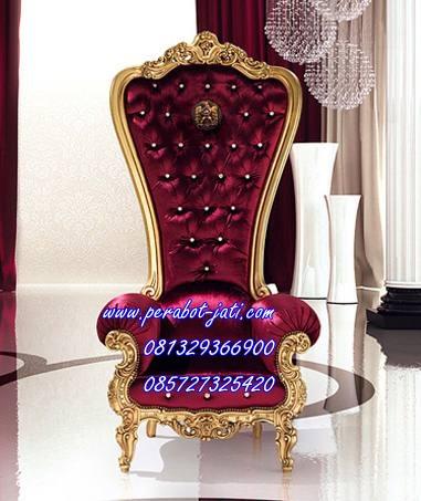 Kursi Sofa Princess Gold Perabot Jati Model Terbaru