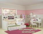 Jual Tempat tidur Anak Perempuan Sorong Minimalis