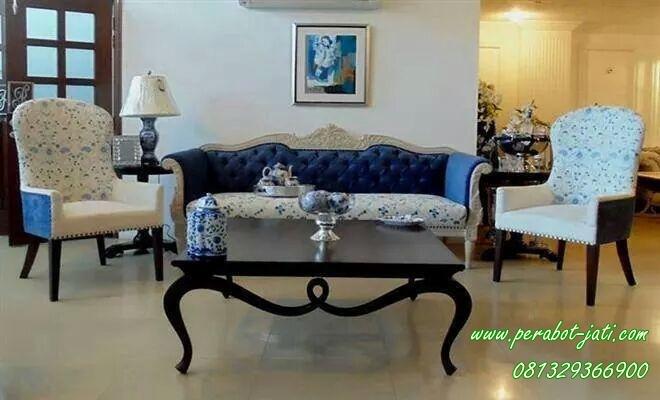 Konsep Kursi Sofa Ruang Tamu Klasik Model Yudha
