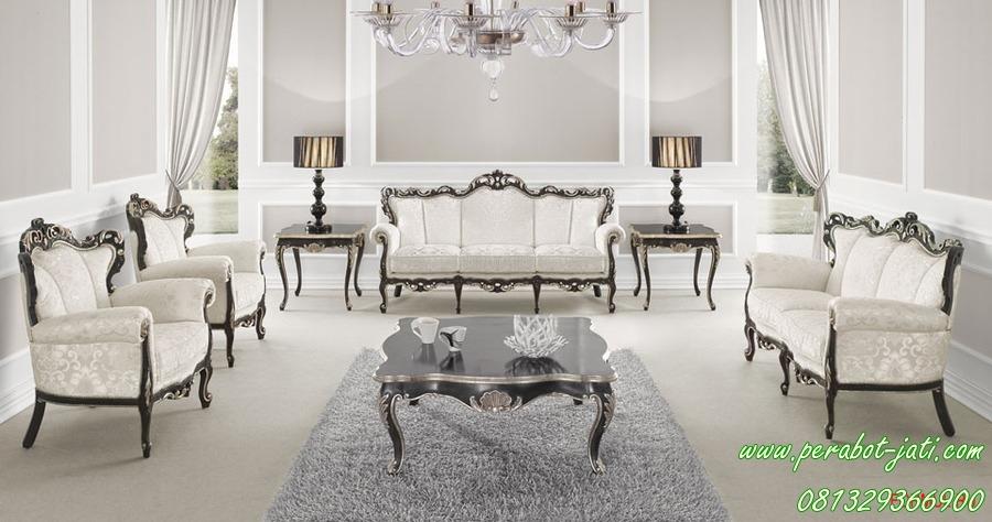 Desain Sofa Ruang Tamu Ukir Modern Dan Mewah Andalas