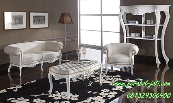 Furniture Kursi Sofa Ruang Tamu Minimalis Cat Duco Sktpj 016