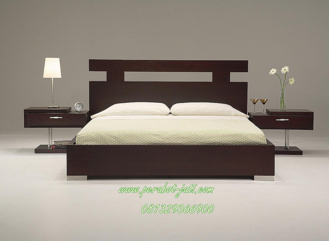 Jual Tempat Tidur Minimalis Salak Brown Toko Furniture