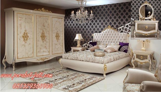 Set Kamar Tidur Utama Klasik Dan Mewah Monaco