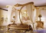 Set Kamar Tidur Utama Klasik Model Canopy Paris Style
