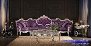 Set Kursi Sofa Ruang Tamu Klasik Modern Venezia