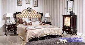 Kamar Tidur Set Klasik Kayu Jati Romawi