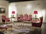 Kursi Sofa Ruang Tamu Klasik Ukir Royal Luxury