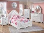 Set Kamar Tidur Anak Perempuan Klasik Minimalis Aurel