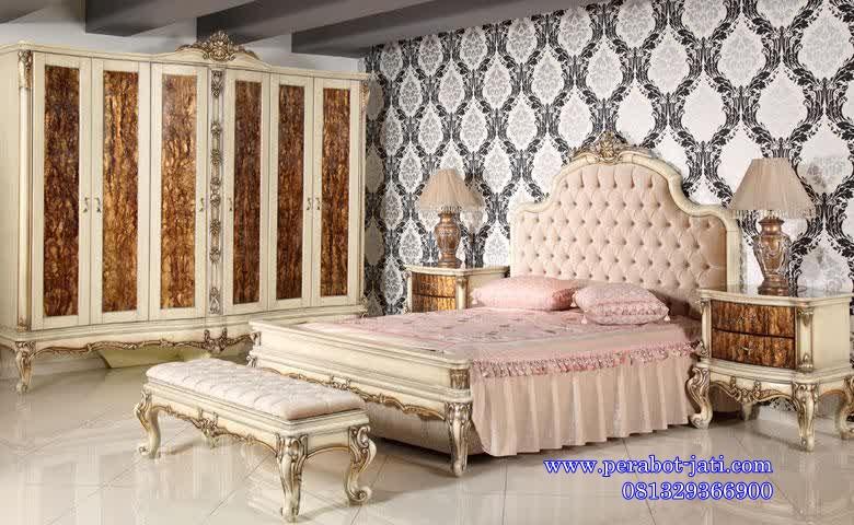 Set Kamar Tidur Mewah Dan Elegan Model Romantic
