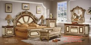 Kamar Tidur Mewah Model Klasik Eropa Style