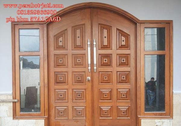 Pintu Rumah Dan Jendela Ukir Mewah Model Ketupat