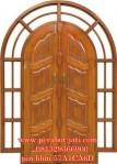 Pintu Rumah Dan Kusen Kupu Tarung Melengkung Model Krisdayanti