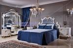 Set Kamar Tidur Pengantin Mewah Blue Series