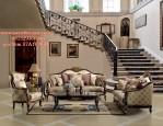 Set Kursi Sofa Tamu Mewah Lady Rose