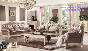 Set Kursi Tamu Mewah Ukir Romantis Victorian