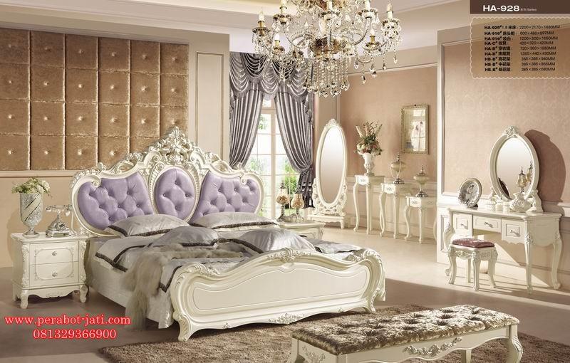 Kamar Tidur Set French Style Italian Luxury