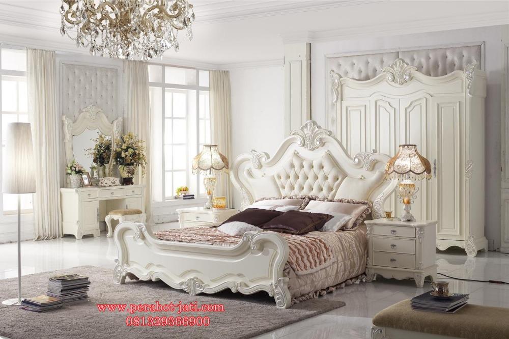 Ranjang Tidur Mewah Modern Untuk Set Kamar Tidur