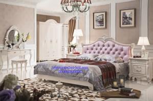 Tempat Tidur Elegan Gaya Perancis Luxury