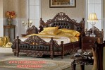 Tempat Tidur Mewah Ukir Klasik Kaki Singa