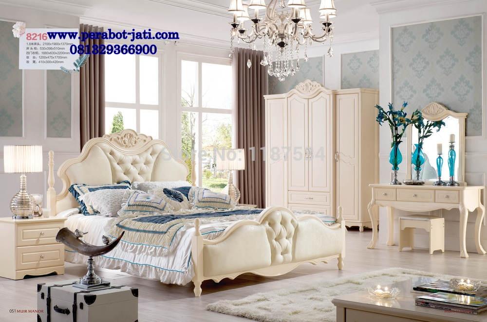 Tempat Tidur Minimalis Mewah French Style