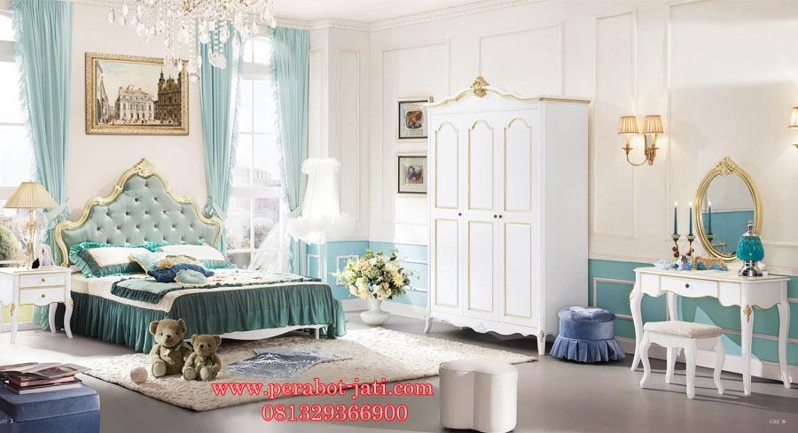 Tempat Tidur Modern anak Perempuan Queen