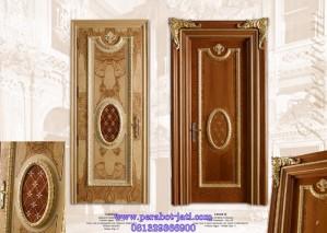Desain Pintu Rumah Utama Single Luxury