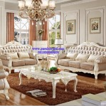 Kursi Sofa Ukir Elegan French Style Luxury