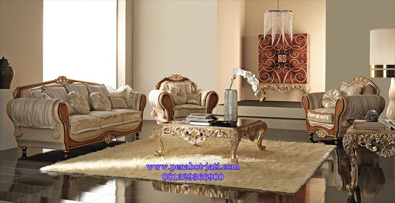 Kursi Tamu Elegan Roland Luxury