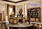 Meja Kantor Executive Mewah Jati Eropa