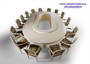 Meja Rapat Bundar Minimalis Mewah