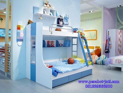 Ranjang Tidur Anak Tingkat Minimalis Modern