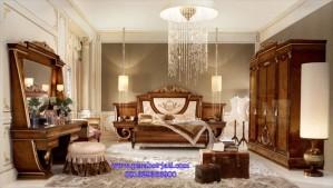 Set Kamar Tidur Modern Jati Model Tempat Tidur Pengantin