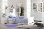 Tempat Tidur Anak Perempuan Single Elegan