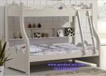 Jual Ranjang Susun Murah Lengkung Desain Kamar Anak Modern