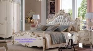 Ranjang Tidur Set Ukir Bellina Mewah