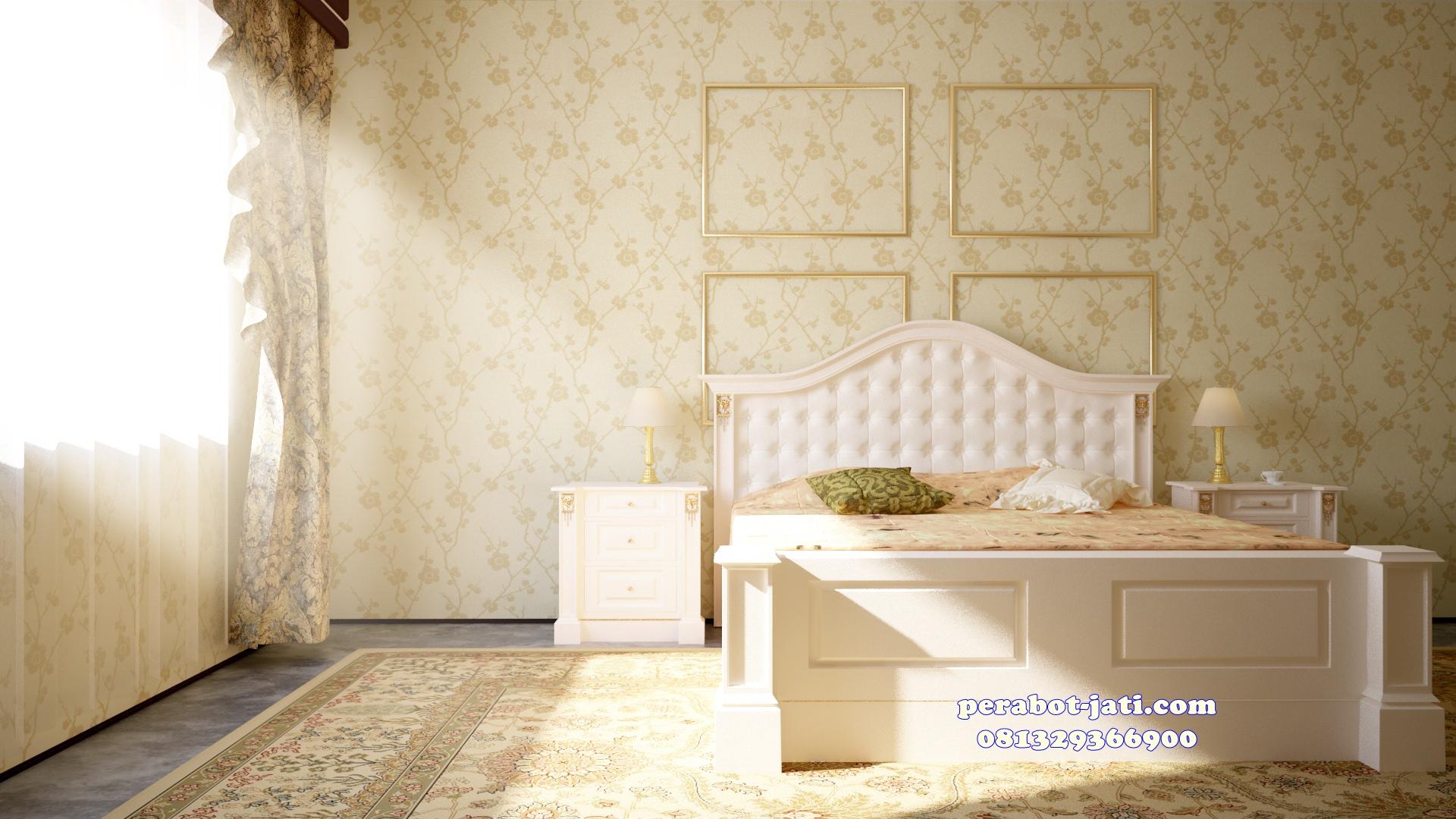 Tempat Tidur Minimalis Mewah Luis Andriano Duco