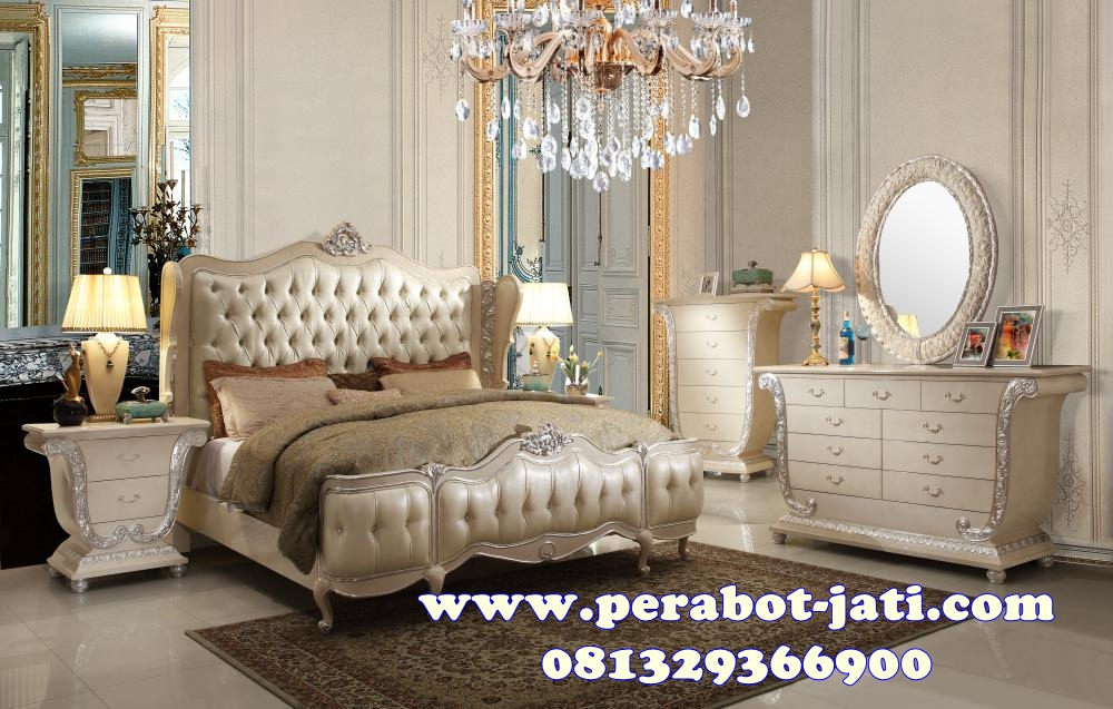 Bedroom Classic Set Kamar Tidur Mewah Moriano