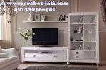 Bufet Tv Minimalis Putih Apartemen