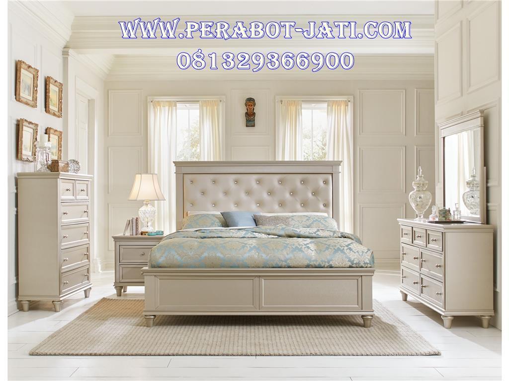 Tempat Tidur Pengantin Minimalis Mewah Robbin